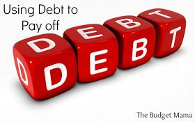 The budget mama using debt to pay debt budget pinterest