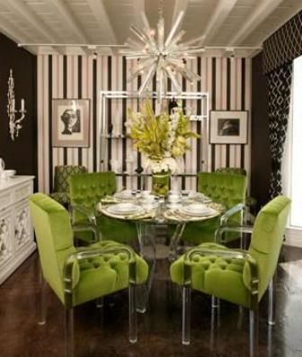 Dining Room on Cool Dining Room Chairs    Color Greenwithenvy
