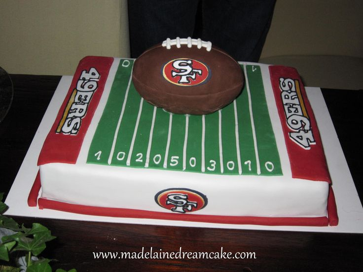 Birthday Cake Design San Francisco : 49ers Birthday Cake Birthday ideas Pinterest
