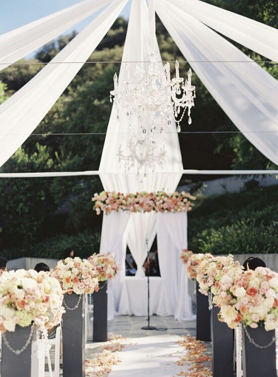 Wedding aisle decorations 2014 wedding trends pinterest for Aisle wedding decoration ideas