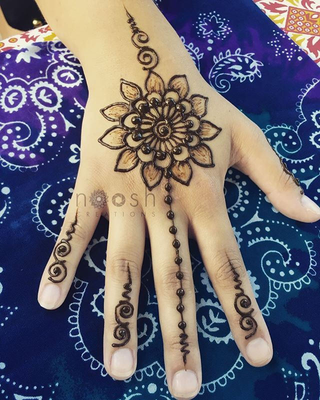 Simple henna tattoo designs for kids