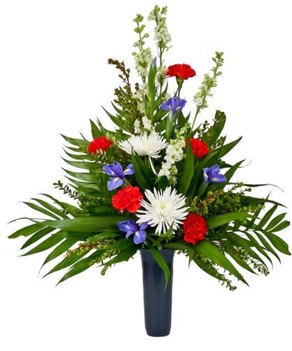memorial day flowers for grave