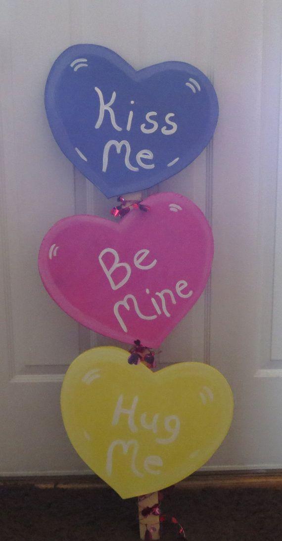 valentine's day yard art