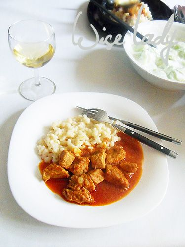 Hungarian Cook: Hungarian pork stew. I'll be making this today!