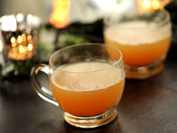 Maybe some spiked hot apple cider for a beverage? I make this every ...