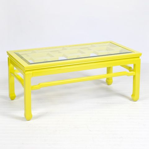 Changright Yellow Coffee Table   Color Palette   Brights   Pinterest