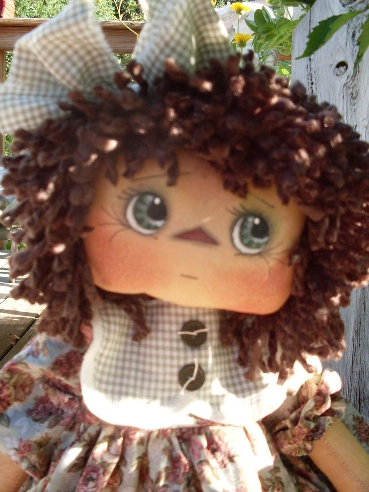 Free Primitive Sewing Patterns   Rag Doll Patterns , Cloth Doll ...