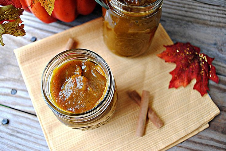Pumpkin Butter - this one seems easier than Skinnytaste's. Plus I have ...