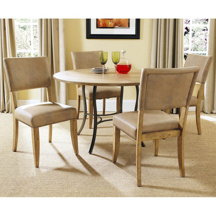 Dining Table Round Dining Table Parsons Chairs