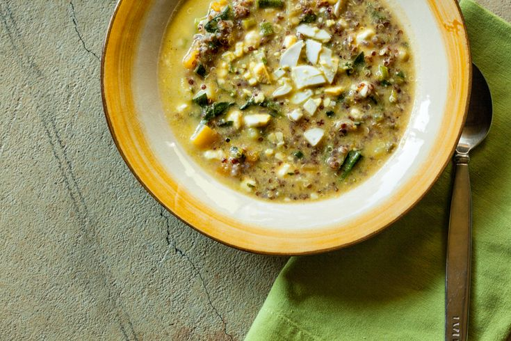 Tieton | Pairings - Quinoa Chowder with Spinach, Feta and Scallions