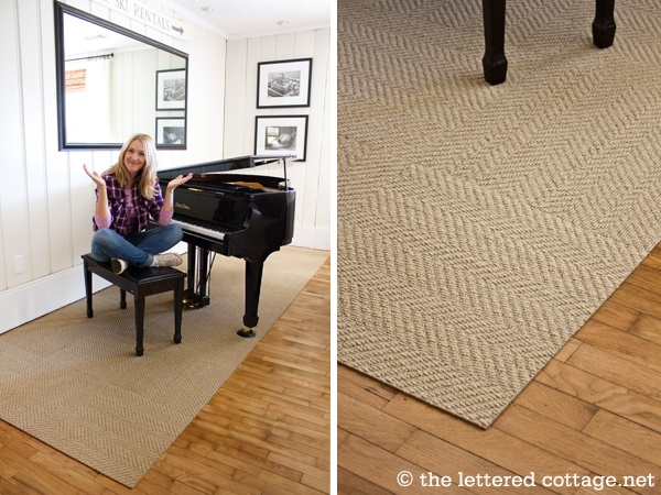 dining table jute rug under dining table