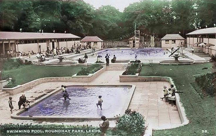 Swimming Pool Roundhay Park Children 39 S Places Pinterest