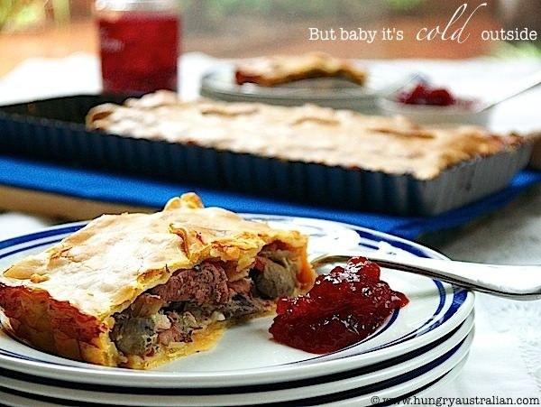 Chicken, Mushroom, And Bacon Pie Recipe — Dishmaps