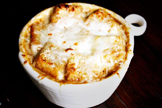 French Onion Soup - so quick and easy!