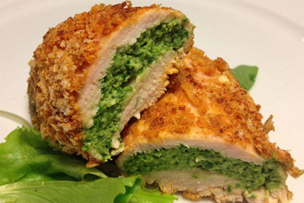 Spinach stuffed chicken breasts | Food: Chicken n' Pork Dinners | Pin ...