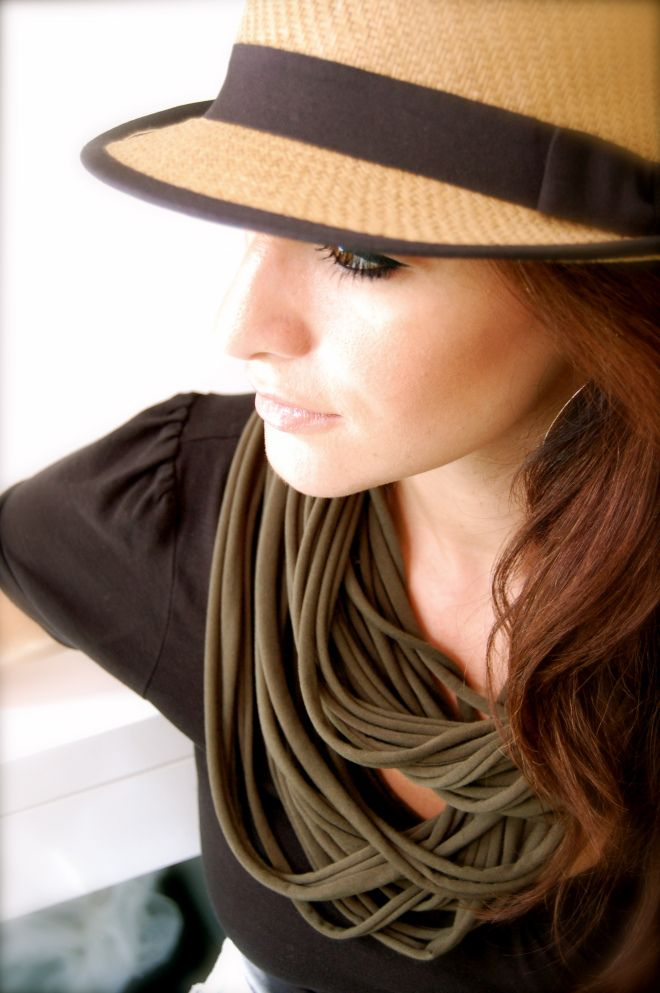 t shirt infinity scarf diy sewing projects pinterest