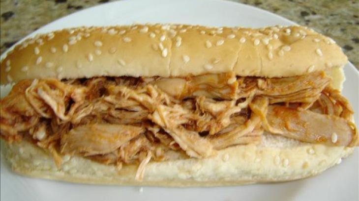 BBQ Chicken Sandwiches | Bewitching Sandwiches | Pinterest