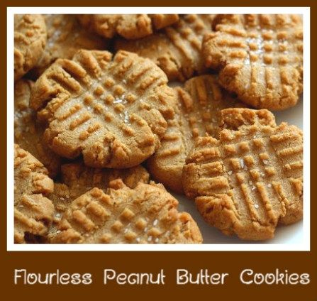 Flourless Peanut Butter Cookies | Food I can only dream about... | Pi ...