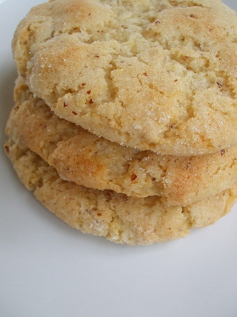 lemon olive oil cookies. I might try these with Lavender next time