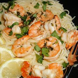 Lemon and Cilantro Shrimp — Punchfork