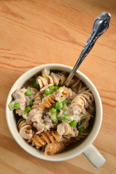 Creamy Tuna Noodle Casserole - From Scratch - Food Doodles