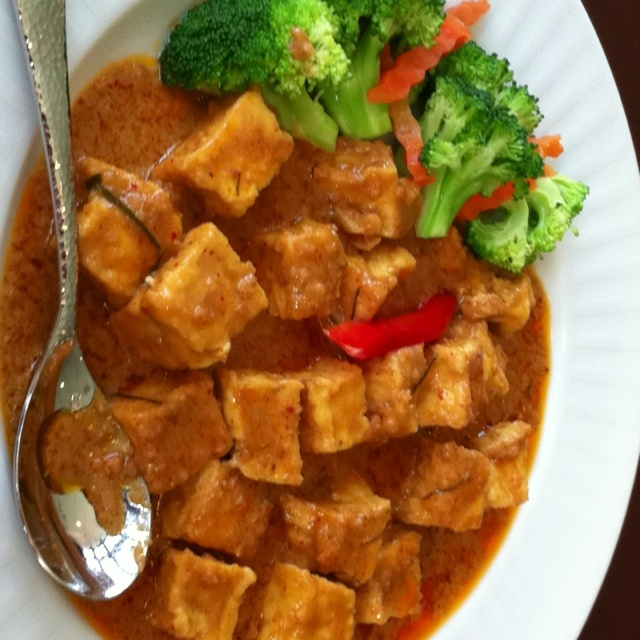 Panang curry w/tofu | Cooking ideas | Pinterest