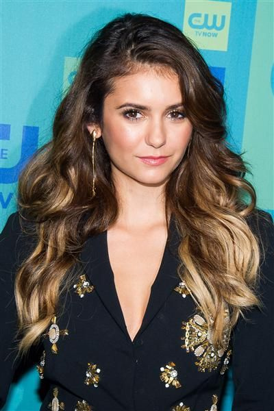 Orlando Bloom And Nina Dobrev | newhairstylesformen2014.com