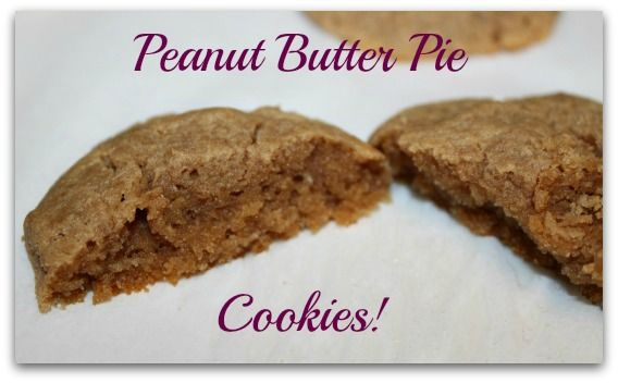 Peanut Butter Pie Cookies---(Grain Free, No Refined Sugars): 1 cup ...