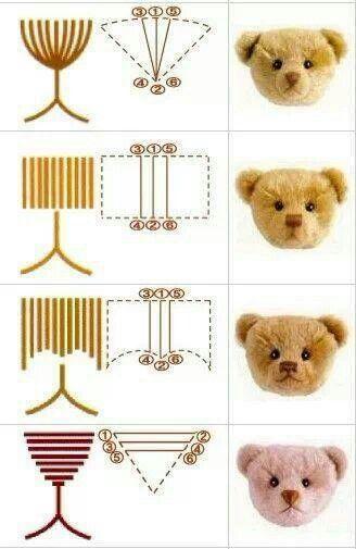 Amigurumi Doll Nose : Amigurumi nose Crochet Ideas Pinterest