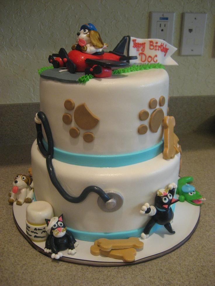 Birthday Cake for Vet/Pilot  Cake  Pinterest