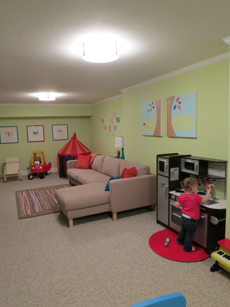basement playroom family room home pinterest