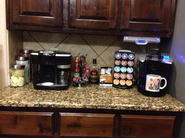 Home Coffee Bar Kitchen Pinterest