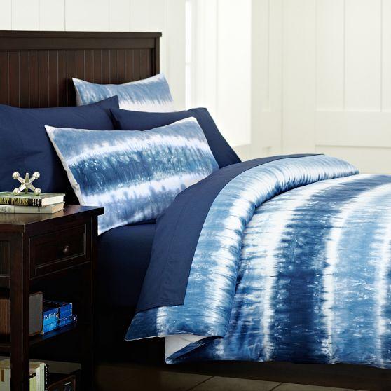 reef tie dye duvet sham navy pbteen boy 39 s bedroom pinterest