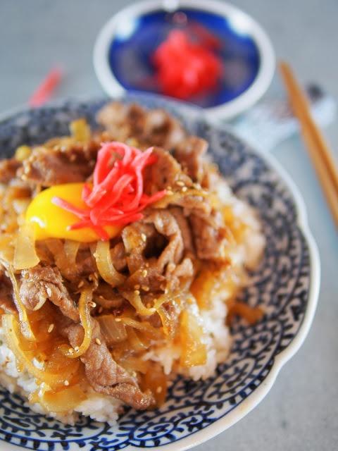 Gyudon Japanese Beef Bowl | Dinner | Pinterest