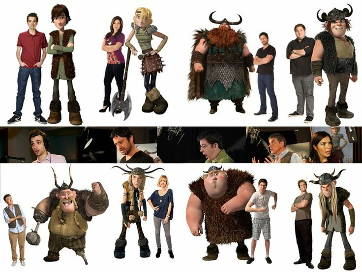 how to train your dragon movie cast