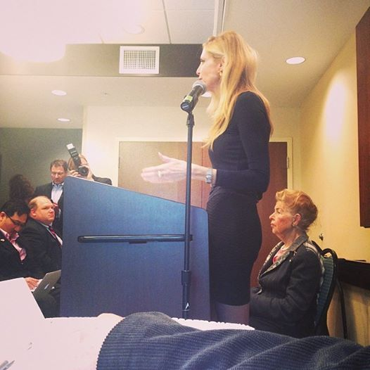 """Democrats say that Republicans only care about the fetus until it's born - let's be real, Democrats don't care about immigrants until they can vote!!"" - Ann Coulter"