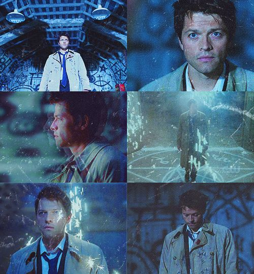 cas's awesome entrance!