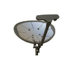 Signal loss caused by the buildup of snow or ice on the dish it can