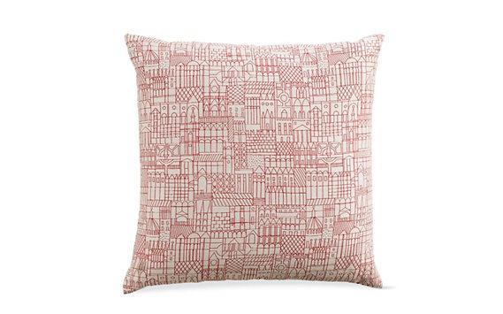Girard Pillows in Retrospective, Red