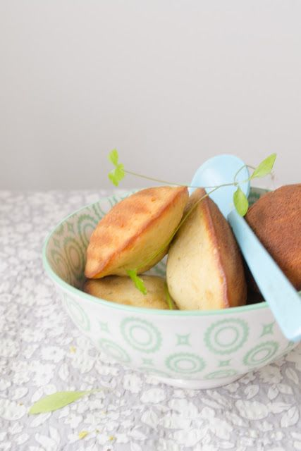 Brown Butter, Pistachio, and Cardamom Madeleines