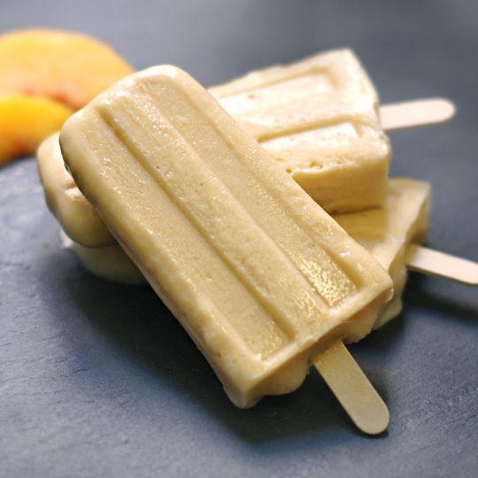 Peaches Cream Ice Pops (Dairy-free) | GF/Paleo main dishes | Pintere ...