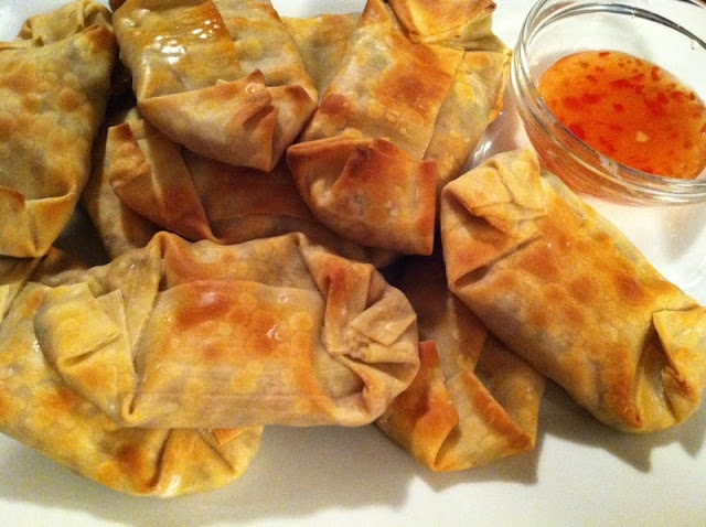 The Daily Dish: Baked Asian Style Vegetable Egg Rolls