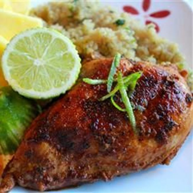 Spicy Garlic Lime Chicken - a chicken dish with a little spicy kick ...