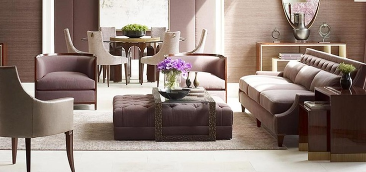 Love This Soft Lilac Living Room Design Living Space