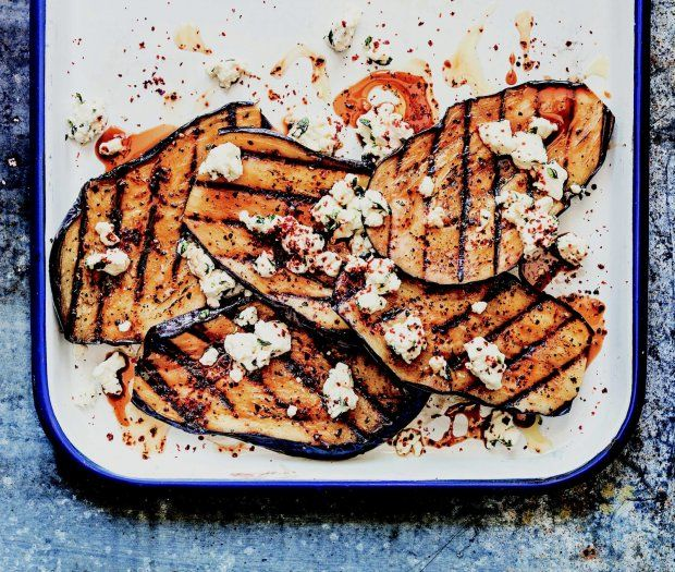 Tangle Of Raw Vegetables With Smoky Eggplant Recipes — Dishmaps