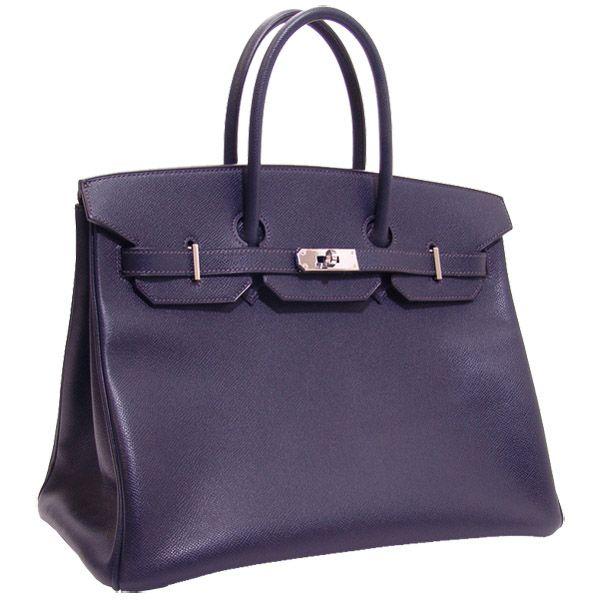 hermes birkin 35cm dark blue epson bag replica hermes bag. Black Bedroom Furniture Sets. Home Design Ideas