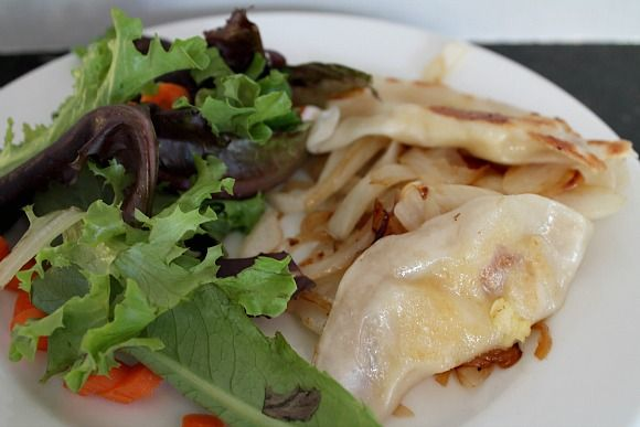 quick bread quick potato pierogi recipes dishmaps quick potato pierogi ...