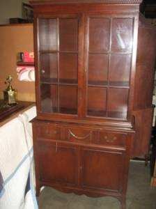 China cabinet mahogany duncan phyfe beautiful spaces pinterest