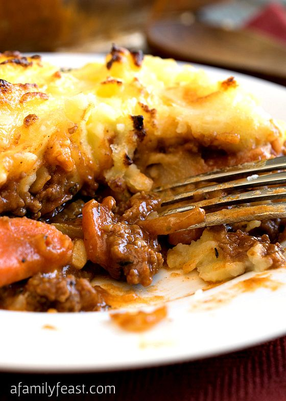 Cheddar Topped Shepherd's Pie   Recipe