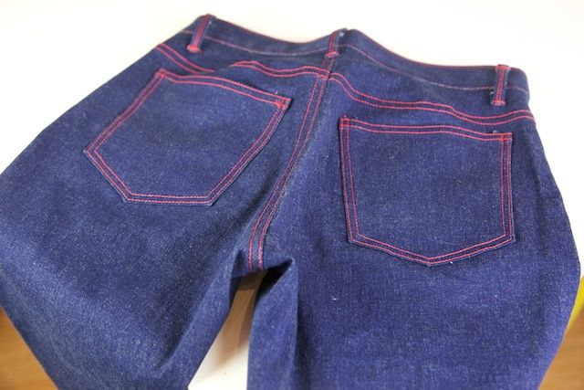 How to patch jeans without sewing